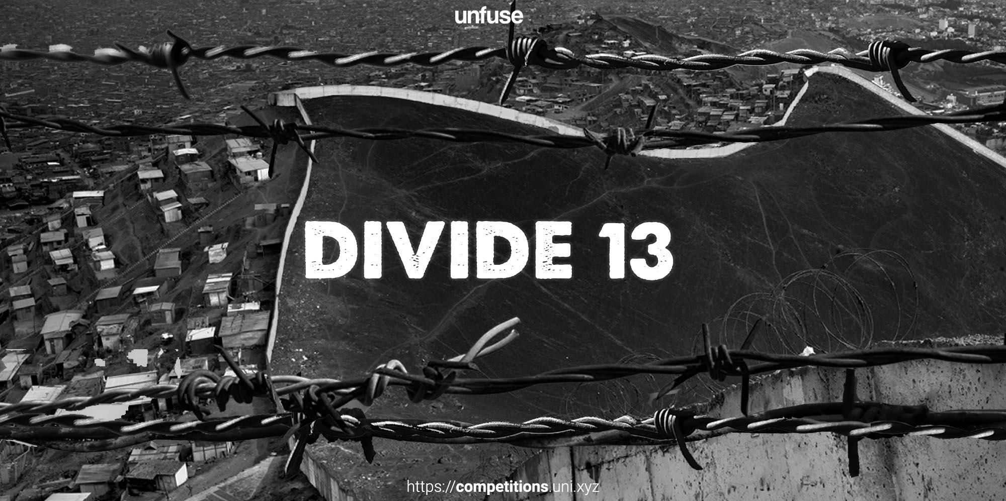 Divide 13